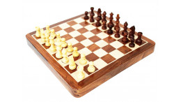 """Magnetic chess set Large size 14"""""""