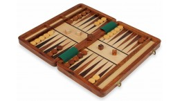 MAGNETIC TRAVEL BACKGAMMON SET - 14""