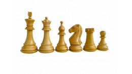 "Majestic Staunton Chess Pieces - Ebonised 4"""