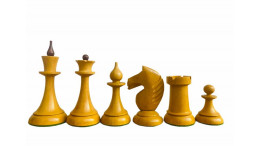 "The Queen Gambit Chess Pieces 4""Sheesham Wood and Antique Boxwood"