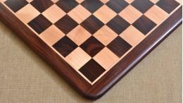 Wooden Chess Board Dark Brown Rose Wood 17