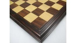Luxury Moulding Steps Chess Board Rose Wood Box Wood - 21