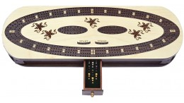 Cribbage Board Game Set 15""