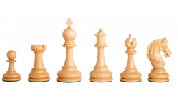 "Lucca Staunton Chessmen 4.5"""