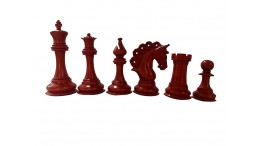 "MAYFIELD 4.25"" WOODEN CHESS PIECES"