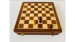 "SELF STORAGE MAGNETIC CHESS SET 12""'"