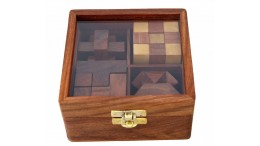 SET OF 4 PUZZLES
