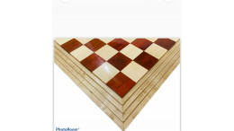 """Centurian Budrosewood Wood Chess Board 21"""" 50 mm square"""