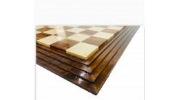 """Centurian Sheesham Wood Chess Board 21"""" 50 mm square"""