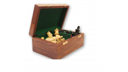 WOODEN CHESS STORAGE BOX