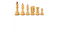 Zagreb Chess Pieces - 3.75